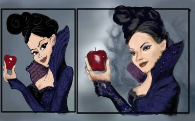 variations of once upon a time evil queen